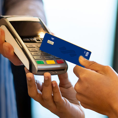 How to Use Your Contactless Card at a terminal