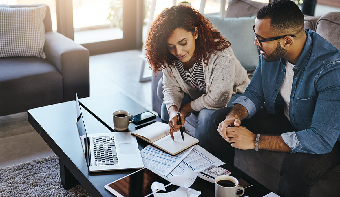 Couple deciding whether to refinance their home