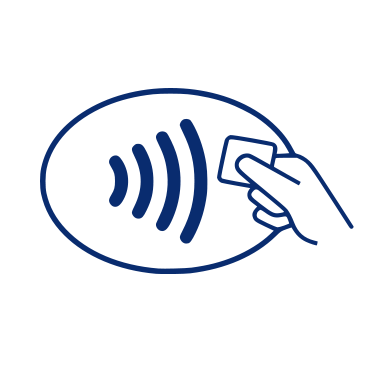 Icon for Using Your Contactless Card