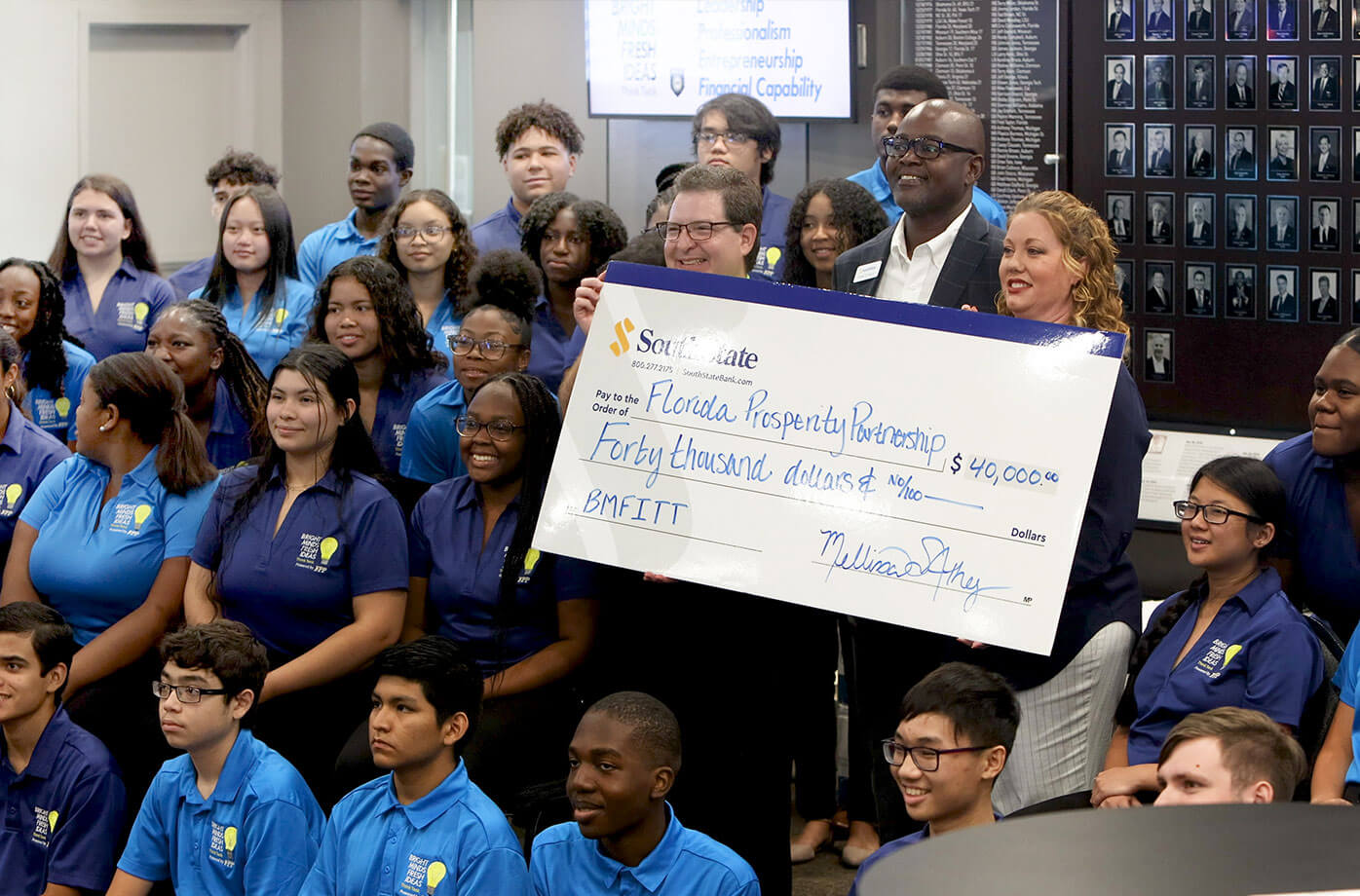 SouthState Bank donation to Florida Prosperity Partnership